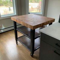 custom kitchen cart